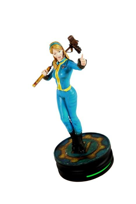 Fallout 174 Vault Girl Statue Modern Icons Series Gamestop
