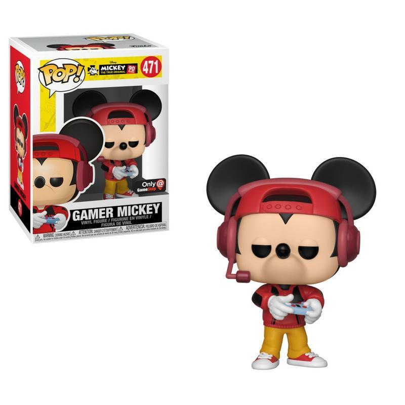 Pop Disney: Mickey's 90th Birthday - Gamer Mickey [Kun Hos GameStop]