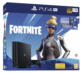 Playstation 4 Pro 1TB Console & Fortnite