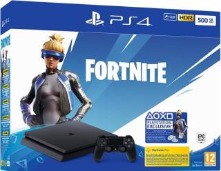 Playstation 4 500GB Konsol og Fornite