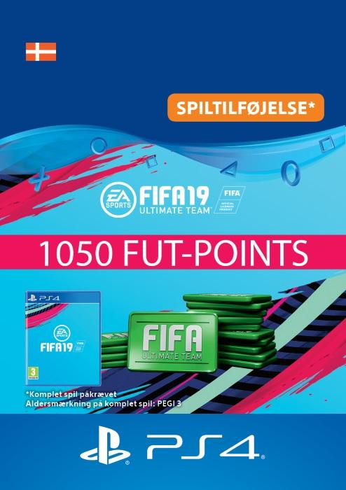 FIFA 19 Ultimate Team™ - 1050 FUT-Points Til PS4 [DIGITAL]