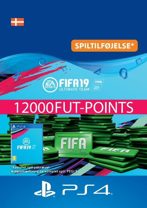FIFA 19 Ultimate Team™ - 12000 FUT-Points Til PS4 [DIGITAL]