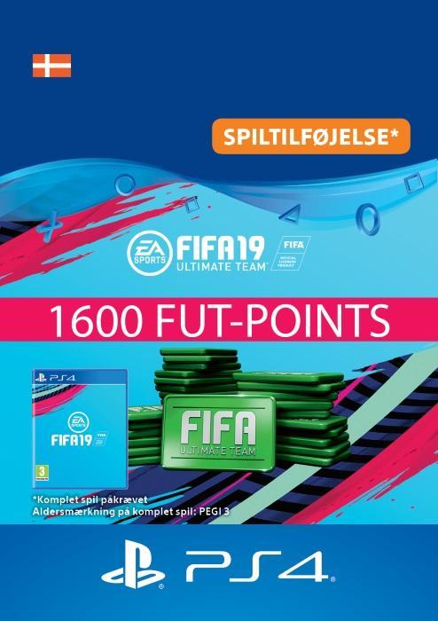 FIFA 19 Ultimate Team™ - 1600 FUT-Points Til PS4 [DIGITAL]