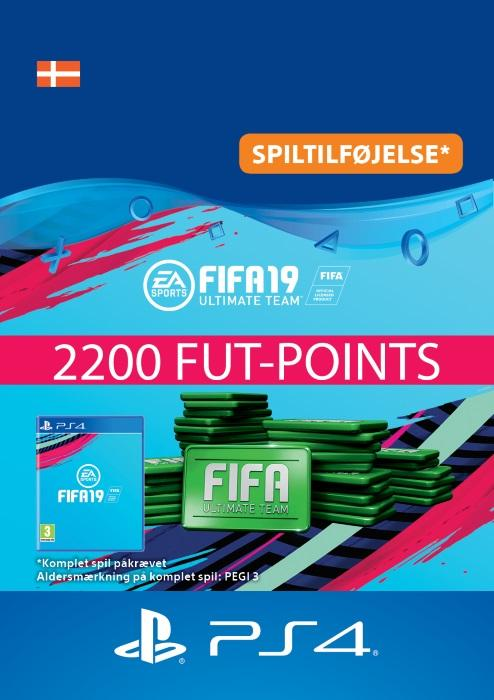 FIFA 19 Ultimate Team™ - 2200 FUT-Points Til PS4 [DIGITAL]