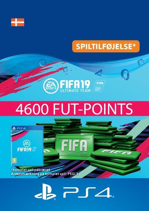 FIFA 19 Ultimate Team™ - 4600 FUT-Points Til PS4 [DIGITAL]