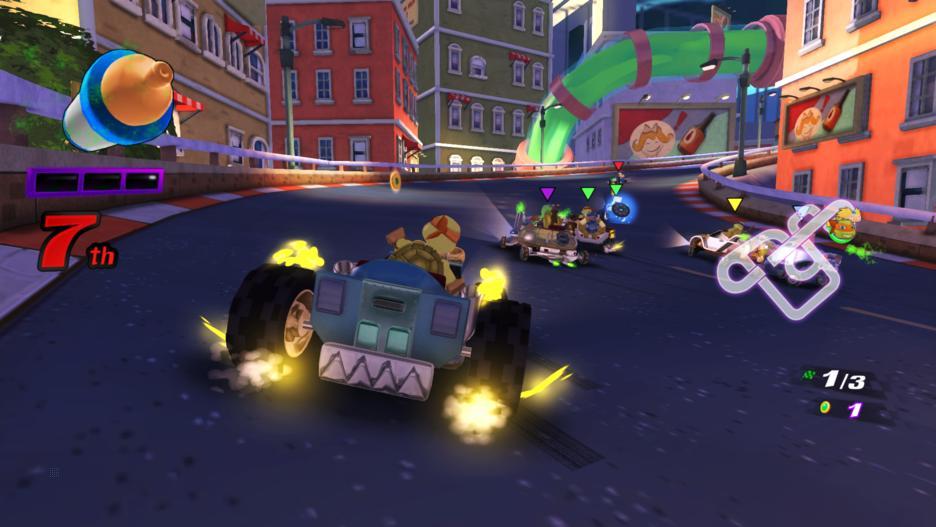 Nickelodeon Kart Racers