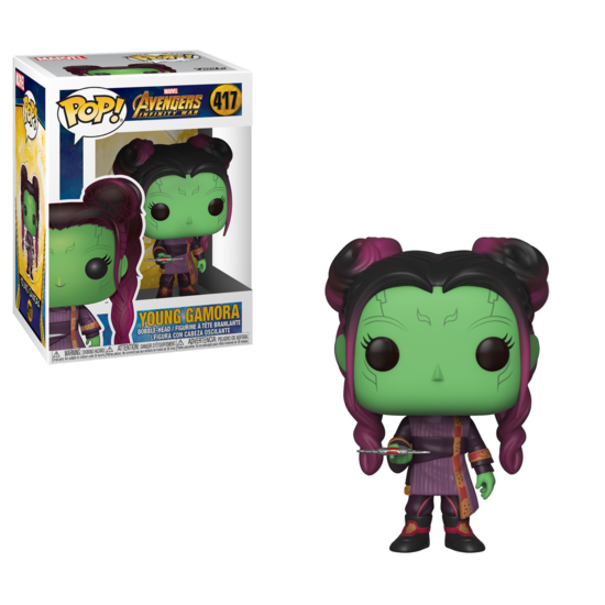Pop! Marvel: Avengers Infinity War - Young Gamora with Dagger