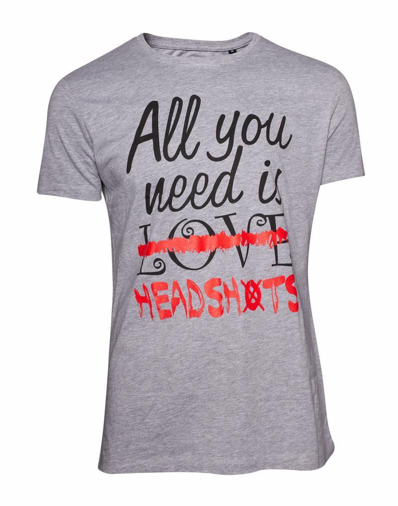 All You Need is Headshots T-Shirt [Medium]