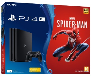 PlayStation®4 Pro 1TB Konsol og Marvel's Spider-Man
