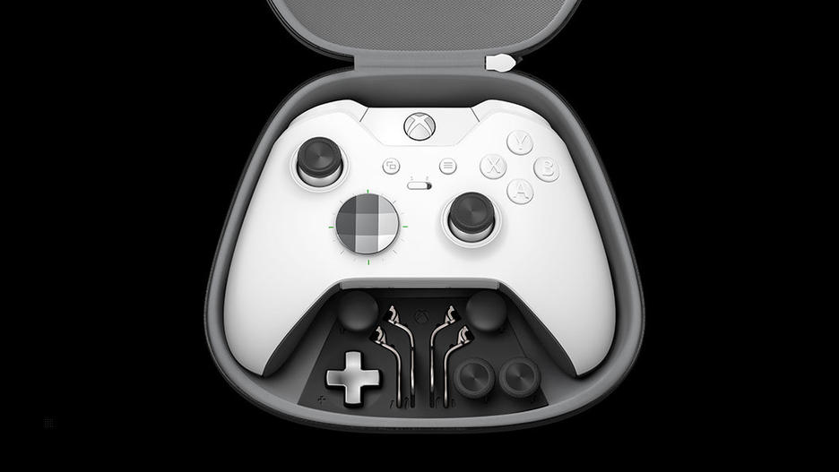 Xbox One White Elite Special Edition Wireless Controller