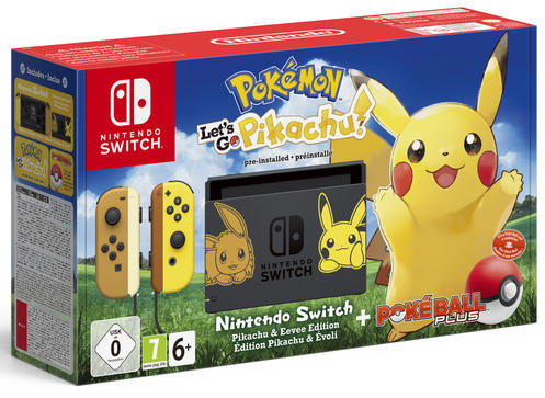 Nintendo Switch Pokémon Let's Go Pikachu Konsol