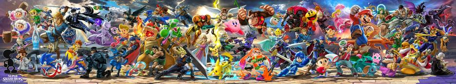 Nintendo Switch™ Super Smash Bros. Ultimate Edition Konsol