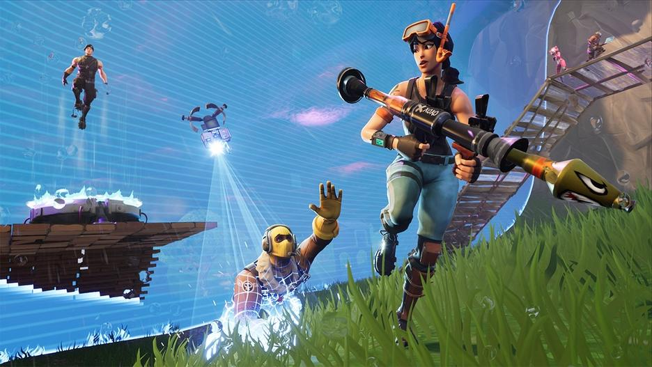 Nintendo Switch Fortnite Konsol