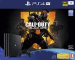 PlayStation®4 Pro 1TB Konsol og Call of Duty®: Black Ops 4