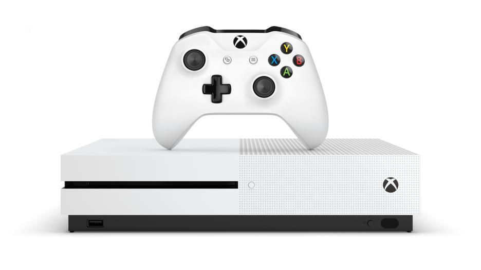 Xbox One S 1TB Konsol og Fortnite