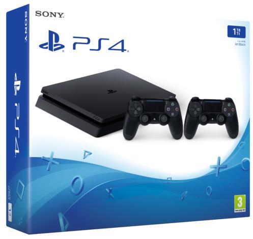 PlayStation®4 1TB Konsol og Dualshock
