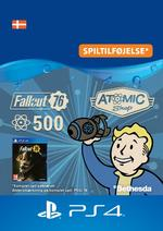 Fallout 76 - 500 atomer Til PS4