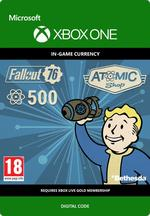 Fallout 76 - 500 atomer Til Xbox One