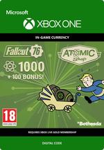Fallout 76 - 1000 (+100) atomer Til Xbox One