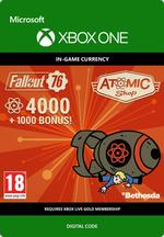 Fallout 76 - 4000 (+1000 i bonus) atomer Til Xbox One