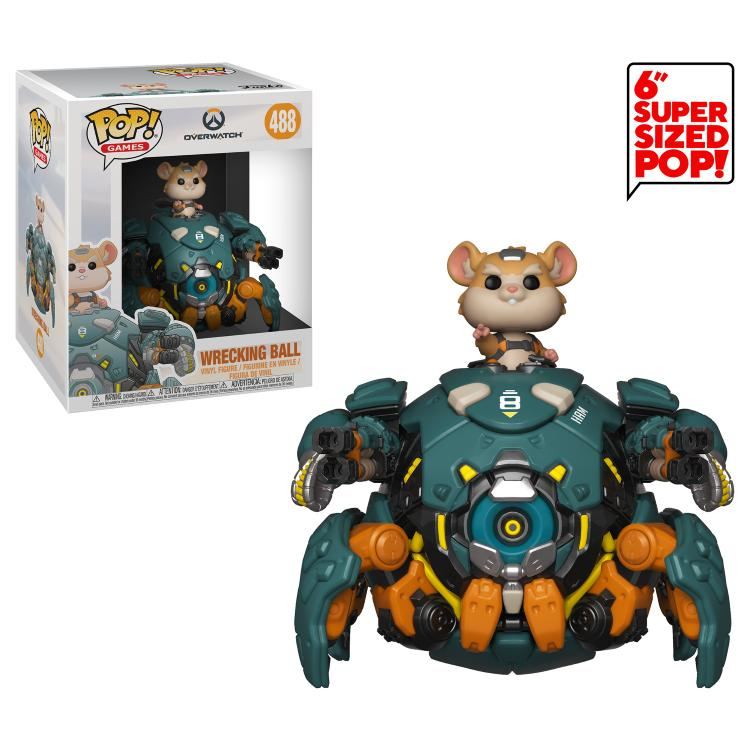 Pop! Games: Overwatch - Wrecking Ball 6""