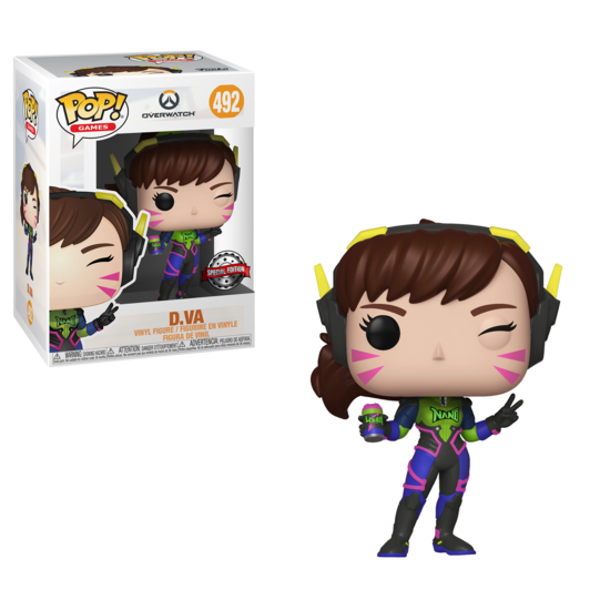 Pop! Games: Overwatch - Nano Cola D.VA [Kun Hos GameStop]