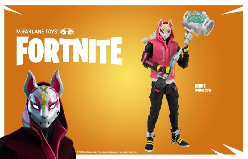 "Fortnite Drift 7"" Action Figure"