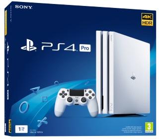 PlayStation®4 Pro 1TB Glacier White Konsol