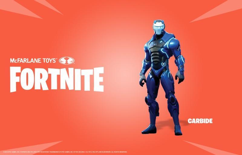 "Fortnite Carbide 7"" Action Figure"