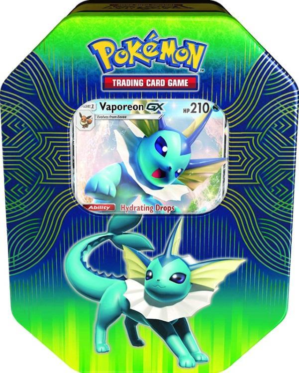 Pokémon TCG: Elemental Power Tin Flareon, Vaporeon, Jolteon-GX [Assorted]