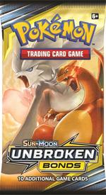 Pokémon TCG: Sun & Moon Unbroken Bonds Booster Pack