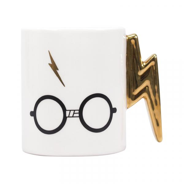 Harry Potter: Harry Potter Glasses & Scar Shaped Mug