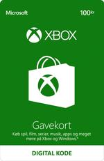 100,00 kr Xbox-Gavekort