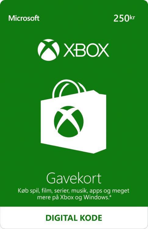 250,00 kr Xbox-Gavekort [DIGITAL]
