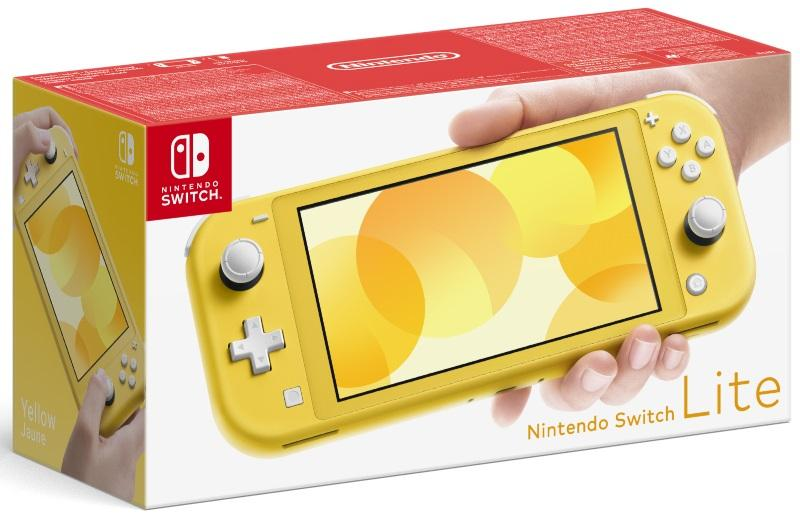 Nintendo Switch Lite Yellow Konsol