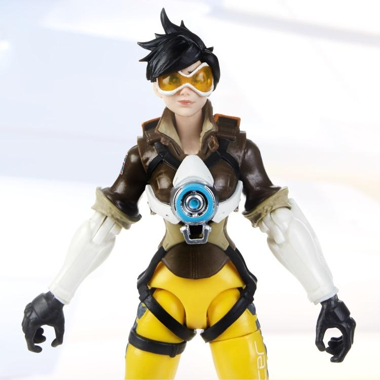 Overwatch Ultimate Series: Tracer 6-inch Collectible Action Figure