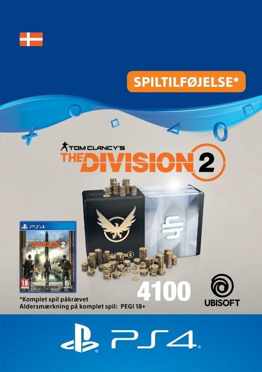 Tom Clancy's - The Division 2: 4100 Premium Credits-Pakke Til PS4 [DIGITAL]
