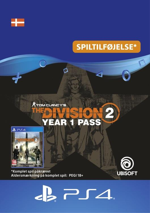 Tom Clancy's - The Division 2: Year 1 Pass Til PS4 [DIGITAL]