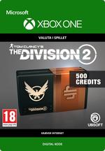 Tom Clancy's - The Division 2: 500 Premium Credits-Pakke Til Xbox One