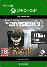 Tom Clancy's - The Division 2: 4100 Premium Credits-Pakke Til Xbox One