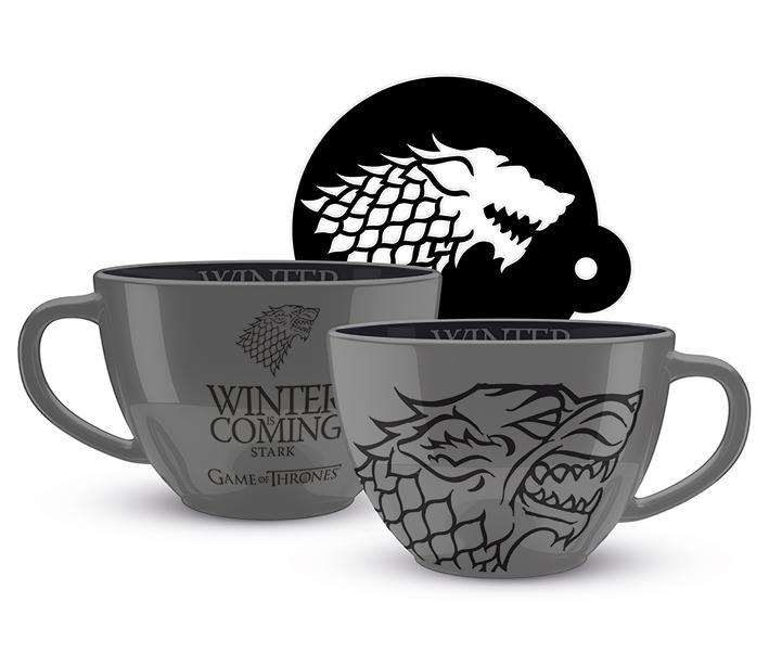 Game Of Thrones: Stark Cappuccino Mug
