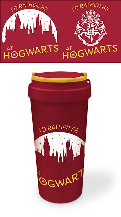 Harry Potter: Rather be at Hogwarts Eco Mug