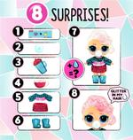 L.O.L. Surprise! Glitter Globe Doll Winter Disco Series Glitter Hair [Assorted]