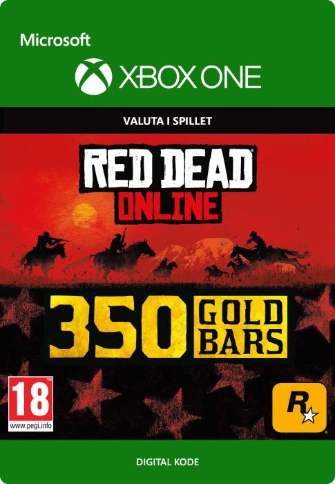 Red Dead Redemption 2: 350 guldbarrer til Xbox One [DIGITAL]