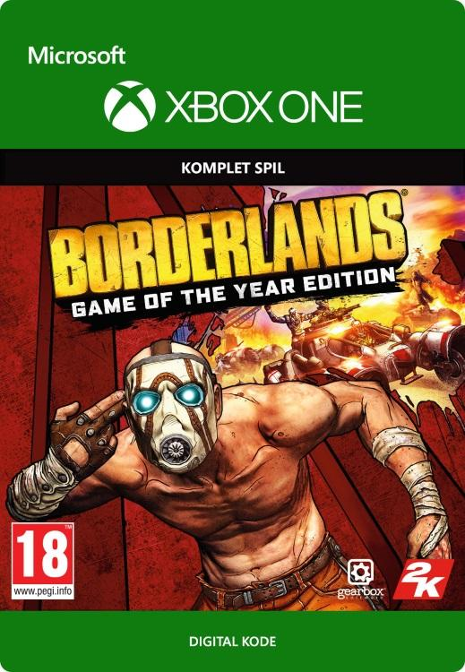 Borderlands: Game of the Year Edition Til Xbox One [DIGITAL]