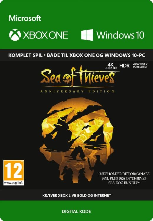 Sea of Thieves: Anniversary Edition Til Xbox One [DIGITAL]