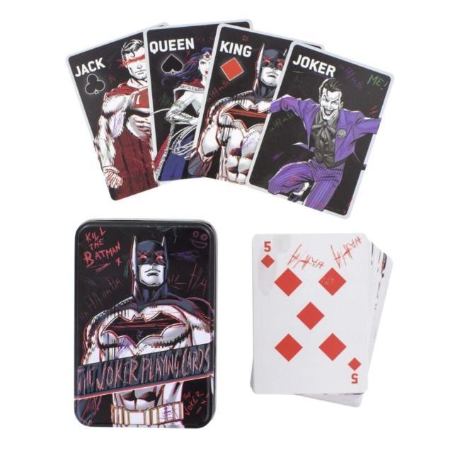 DC Comics: The Joker Playing Cards