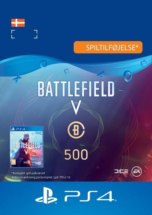 Battlefield™ V – Battlefield-valuta 500 Til PS4 [DIGITAL]