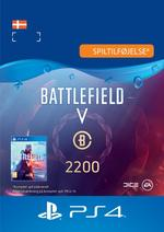 Battlefield™ V – Battlefield-valuta 2200 Til PS4
