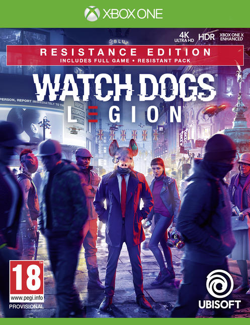 Watch Dogs: Legion Resistance Edition [Kun Hos GameStop]